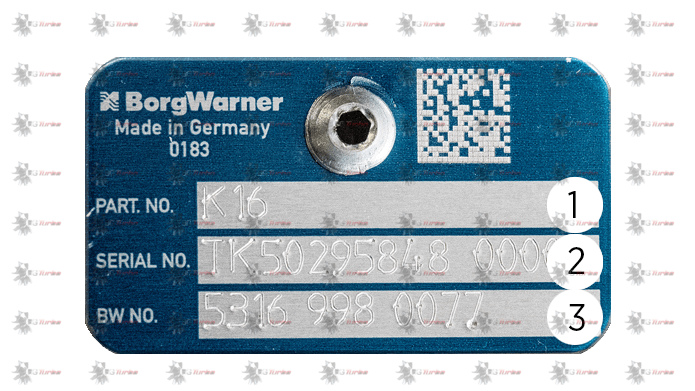 Indentification Turbo BORGWARNER