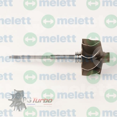 Turbo Axe turbine GT25 (740244-1 fit 454191-9 to12, 530d)