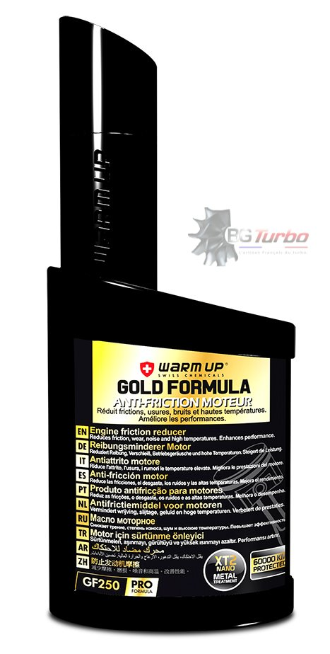 Turbo WARM UP Gold Formula 250 ml