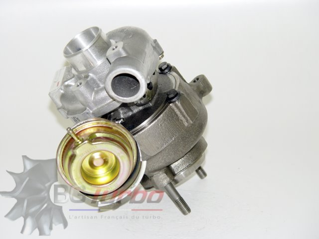 TURBO - GARRETT RECONDITIONNÉ EN FRANCE - BMW 318 320 520 D E46 M47D 2,0 L 122 136 150 CV - 700447-0009